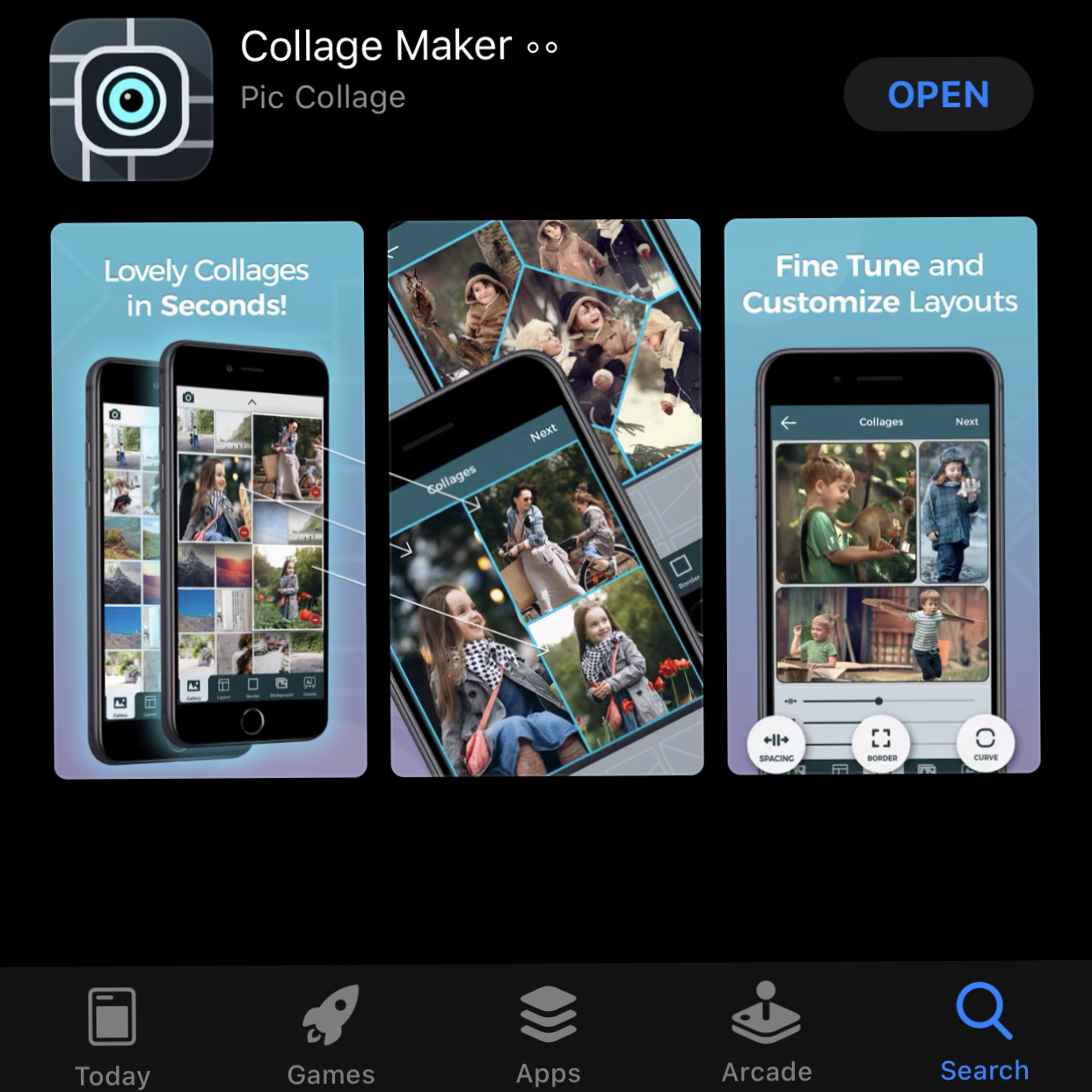 Download cShot from App Store.
